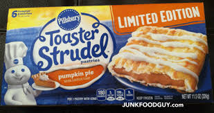 Toaster Strudle Review Limited Edition Pillsbury Pumpkin Pie Toaster Strudel