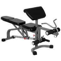 Incline And Decline Bench Xmark Fid Flat Incline Decline Weight Bench With Leg Extension And