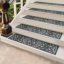 rubber stair treads set of 2
