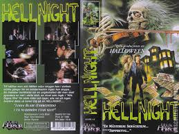 halloween horror nights 1990 the horrors of halloween hell night 1981 newspaper ads vhs and