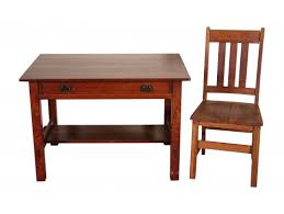 Arts And Crafts Writing Desk L U0026 Jg Stickley Arts And Crafts Library Writing Desk With