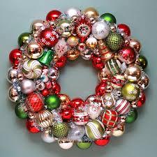 vintage wreath mercury glass wreath by judyblank