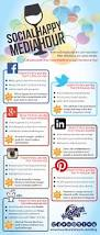 home decor infographic social media happy hour infographic