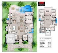 Contemporary House Plan Gulf Harbour Coastal Contemporary 4 Bedroom House Plan Features A