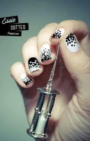 nail art 46 unforgettable nail art designs on black nail polish