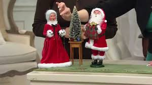 Mrs Claus Animated Christmas Decorations by Byers Choice 13