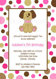18th Birthday Invitation Card Puppy Birthday Invitations Plumegiant Com