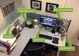 Ideas For Decorating An Office 25 Best Office Cubicle Design Ideas On Pinterest Decorating