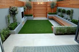 Maintenance Free Backyard Ideas Contemporary Backyard Design With Artificial Grass Free