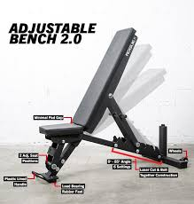 Marcy Adjustable Bench Rogue Adjustable Bench 2 0 Home Gym Pinterest Rogues Bench