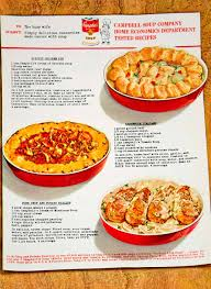 1964 ad campbell u0027s soup casserole 60s recipe biscuit chicken pie