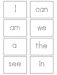 printable kindergarten sight words kindergarten sight words flash cards