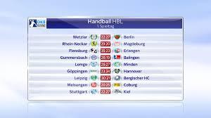 Flensburg ist der 1 tabellenführer der handballbundesligasaison