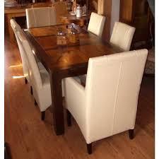 esszimmer sessel leder stuhl klassik aus bycast leder in créme by vintage line