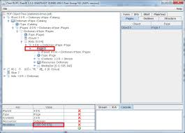 Count Number Of Pages In Pdf Itext Itext Rups Use Rups To Change Your Pdf Syntax And Dictionaries