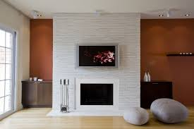 white wooden table simple furnace living room paint ideas with