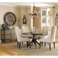 Fabric Chairs For Dining Room Dining Room Sets With Fabric Chairs Home Interior Decor Ideas