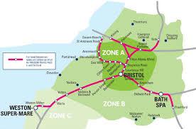England Train Map by National Rail Enquiries Freedom Travelpass