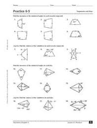 trapezoids and kites lesson plans u0026 worksheets reviewed by teachers