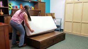 furniture in the raw cabinet bed youtube