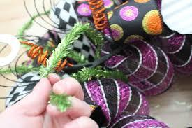 Halloween Geo Mesh Wreath Halloween Skeleton Wreath Skeleton Wreath Trick Or Treat Wreath