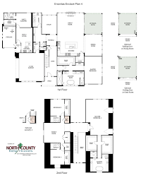 homes for sale with floor plans encinitas enclave floor plans north county new homes