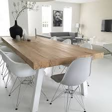Dining Room Wood Tables Best 25 Minimalist Dining Room Ideas Only On Pinterest