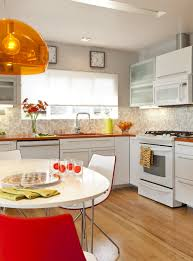 modern kitchen counter kitchen modern small kitchen white kitchen cabinets orange
