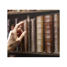 old bookshelves wallpaper pinpina