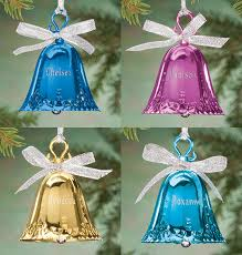 personalized birthstone ornaments personalized birthstone bell ornament exposures