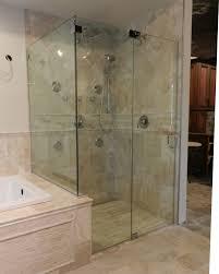 Cost Of Frameless Glass Shower Doors Bathroom Design Frameless Glass Shower Doors With Door Panel