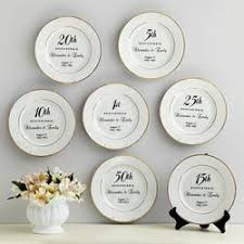 personalized anniversary plate 35 best 20th anniversary gift ideas images on 20th