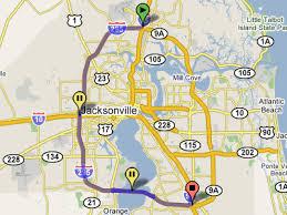 jacksonville alternative i 95 exit guide