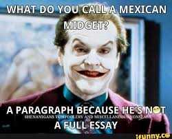 Funny Mexican Meme - writing essays and personal statements international counselor