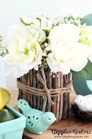 rustic center pieces rustic easter centerpiece