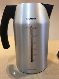 siemens porsche design toaster siemens porsche design kettle for sale 1 5 litre capacity fast