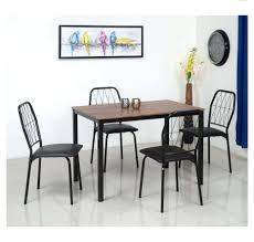 nilkamal kitchen furniture excellent danish 4 seater dining set home by nilkamal chocolate 66