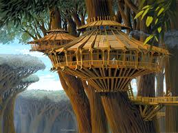 three house kashyyyk ralph mcquarrie tree houses and concept