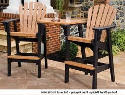 Brown Plastic Adirondack Chairs Bar Height Adirondack Chairs French Creative