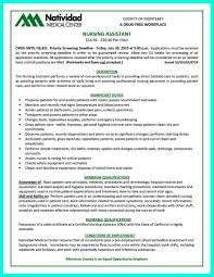 nursing assistant resume certified nursing assistant resume therpgmovie