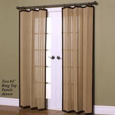Inexpensive Patio Curtain Ideas by Front Door Curtains Okay I Didnt Actually Do The Sewing Confess