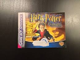 harry potter et la chambre des secrets gba jeu harry potter et la philosophale pour nintendo boy