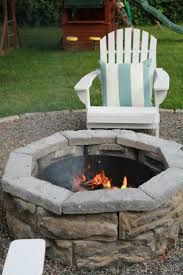 Diy Backyard Fire Pit Ideas by 12 Best Natural Stone Fire Pits Images On Pinterest Stone Fire