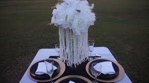 diy tutorial a wisp of great gatsby wedding centerpiece youtube