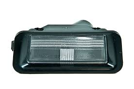 nissan qashqai dog guard nissan genuine car external number licence plate lamp light right