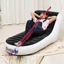 siege jeux bestway chaise longue gonflable détente chaise siège canapé salon