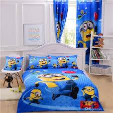 Single Duvet And Pillow Set Cartoon Minions Bedding Sets Despicalble Me Bedding Single Kids