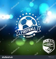 soccer football badge logo design template stock vector 337280126