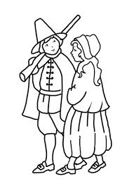 pilgrim coloring pages virtren com