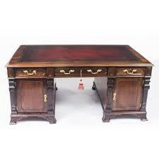 antique partners desk by harrods